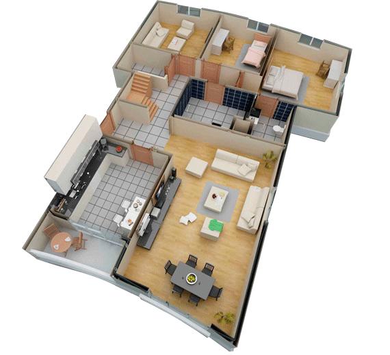 Arterium daire planlar for 2 1 salon dekorasyonu